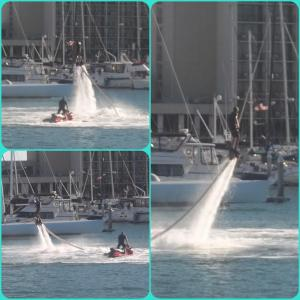 WaterJet Shoes powered by a JetSki? AquaMan!